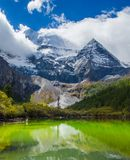 Schneeberg in China Lizenzfreies Stockfoto