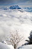 Schneeberg mountain Stock Images