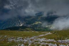 Schneeberg in Oostenrijkse Alpen Royalty-vrije Stock Afbeeldingen