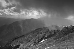 Schneeberg in Oostenrijkse Alpen Stock Foto's