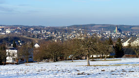 Schneeberg in the Ore Mountains, Germany Royalty Free Stock Images