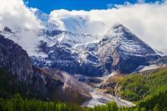 Schneeberg von Aden Stockfoto