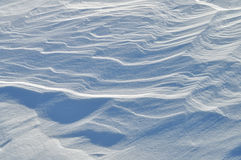 Schneebeschaffenheit Stockfoto