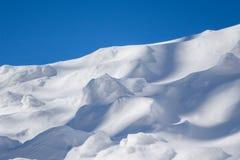 Schneedünen Stockbild