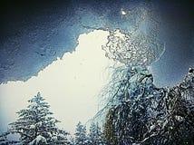 Schneeeis Stockfotografie