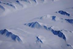 Schneeeislandschaft Stockbild