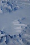 Schneeeislandschaft Stockfotografie