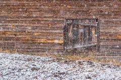 Schneefälle in der Landschaft Lizenzfreies Stockbild