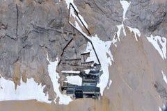 Schneefernerhaus Imagem de Stock Royalty Free