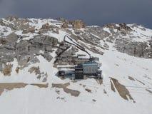 Schneefernerhaus bei Zugspitze Stockfotografie