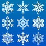 Schneeflocke Lizenzfreie Stockbilder