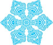 Schneeflocke Stockfoto