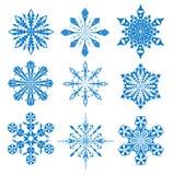 Schneeflocke vektor abbildung