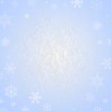 Schneeflocke auf Schnee Stockbilder