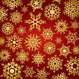 Schneeflocke-Hintergrund Stockfoto