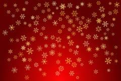Schneeflocke-Hintergrund Lizenzfreie Stockfotografie