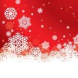 Schneeflocke-Hintergrund Stockfotos