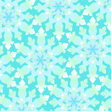 Schneeflocke-Muster Stockfotografie