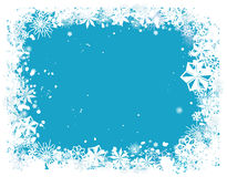 Schneeflocke-Rand 1 lizenzfreies stockbild