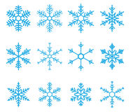 Schneeflocke-Vektor Stockfotos