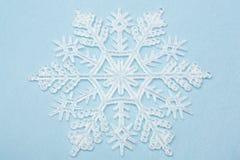Schneeflocke-Weihnachtsdekoration Stockfotos