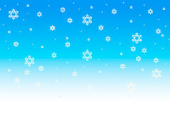 Schneeflocke-Weihnachtshintergrund Lizenzfreies Stockfoto