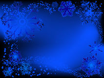 Schneeflockeauslegungen stock abbildung