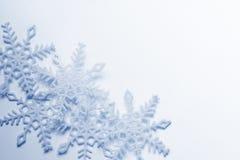 Schneeflockehintergrund Stockfotografie