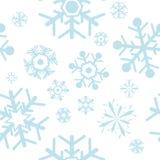 Schneeflockemuster vektor abbildung