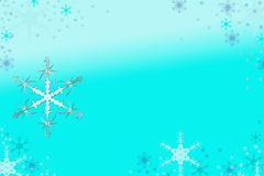 Schneeflocken Stockfoto