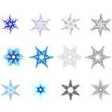 Schneeflocken Stockfotografie