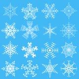 Schneeflocken Stockfotos