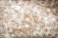 Schneeflocken-Hintergrund Lizenzfreies Stockfoto
