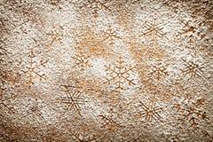 Schneeflocken-Hintergrund Stockbild