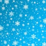 Schneeflocken masern, Raster Weihnachten und neues Jahr Lizenzfreie Stockbilder