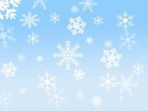 Schneeflockenauslegung Lizenzfreies Stockfoto