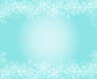 Schneeflockenhintergrund Lizenzfreie Stockbilder