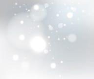 Schneegrauhintergrund Lizenzfreie Stockfotos