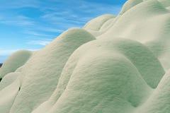 Schneehügel Stockbilder