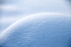 Schneehügelabschluß herauf Beschaffenheit stockfotos
