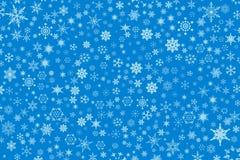 Schneehintergrund Lizenzfreie Stockbilder