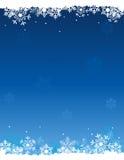 Schneehintergrund Stockfoto