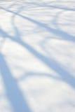 Schneehintergrund Stockfotos
