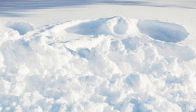 Schneehintergrund Lizenzfreie Stockfotografie