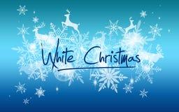 Schneehintergrund der weißen Weihnacht stockbilder
