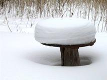 Schneehut Stockbild