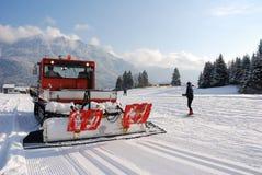Schneekatze Lizenzfreies Stockfoto