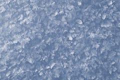 Schneekristallhintergrund lizenzfreie stockfotografie