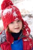Schneemädchen Stockbild