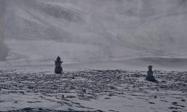 Schneemänner Lizenzfreies Stockbild